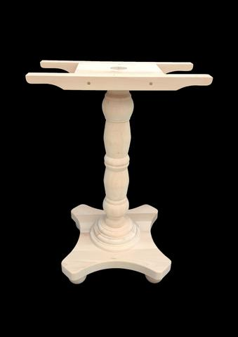 Traditional Poseur Table Base – Wells Contract Ltd